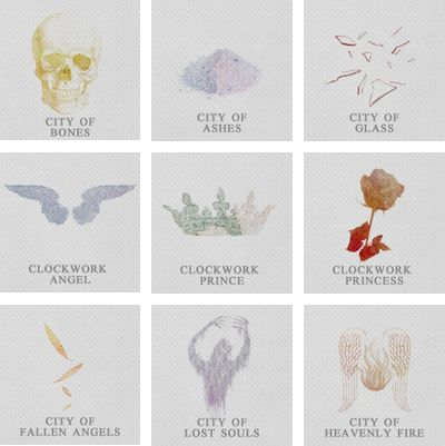 MINIMALIST | THE MORTAL INSTRUMENTS + THE INFERNAL DEVICES