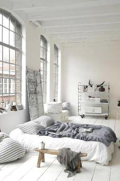 bedroom full of light