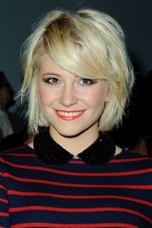Pixie Lott's super-short blonde bob