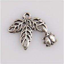 45 листьев тибетские серебряные подвески подвески ювелирные изделия делая выводы 6E5C8F