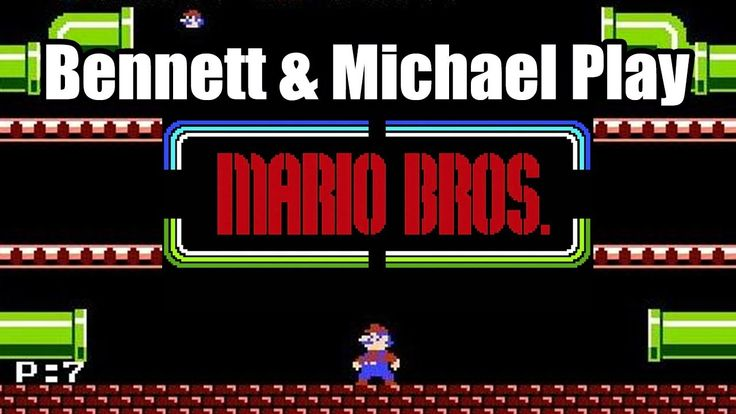 Let's Play Mario Bros | Michael and Bennett Play