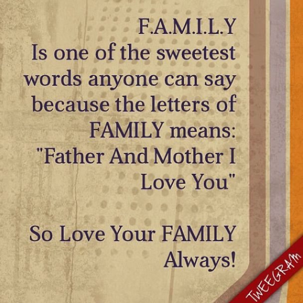 Quotes About Loving Your Family: 18 Best Images About Family Quotes On Pinterest