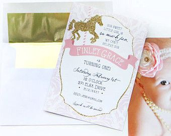 carousel invitations