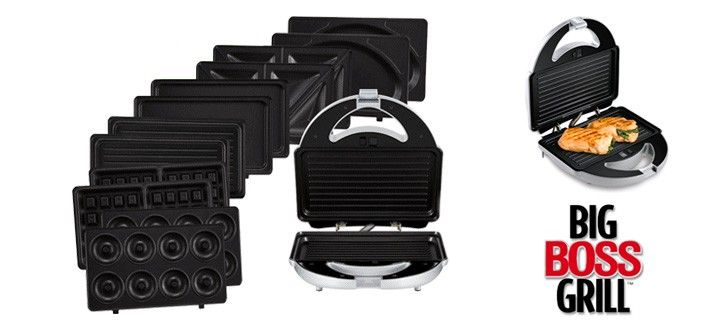 $39 for the Big Boss™ Grill 15-Piece Set ($90 Value) - SEE VIDEO!