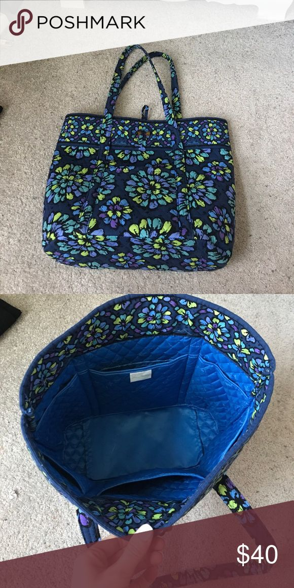 Vera Bradley Tote Bag Colorful Tote bag.  Used only a handful of times - great condition Vera Bradley Bags Totes