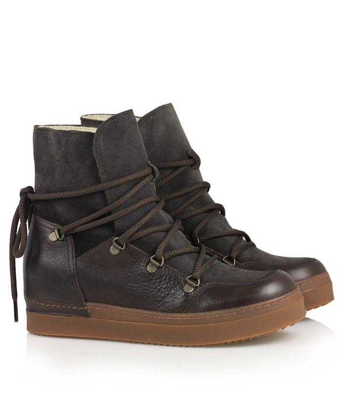 BILLI BI Sport 23025 med for - Mørkebrun støvle