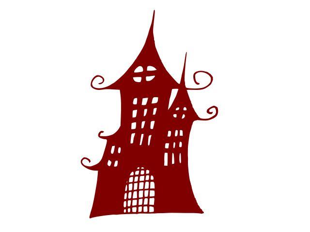 Хэллоуин-преследовало-замок-дом-4