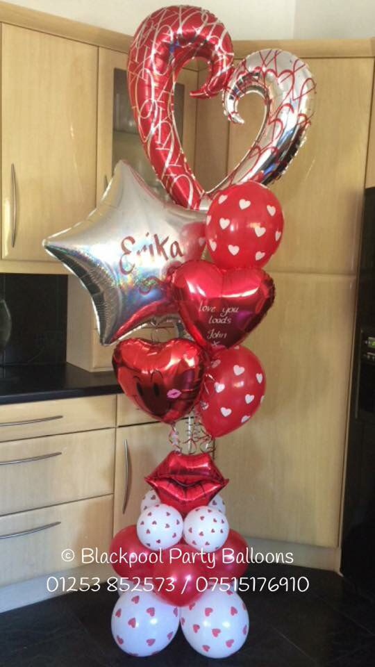 Best ideas about valentines balloons on pinterest