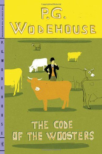 The Code of the Woosters von P. G. Wodehouse http://www.amazon.de/dp/0393339815/ref=cm_sw_r_pi_dp_U27xub0K2F69F