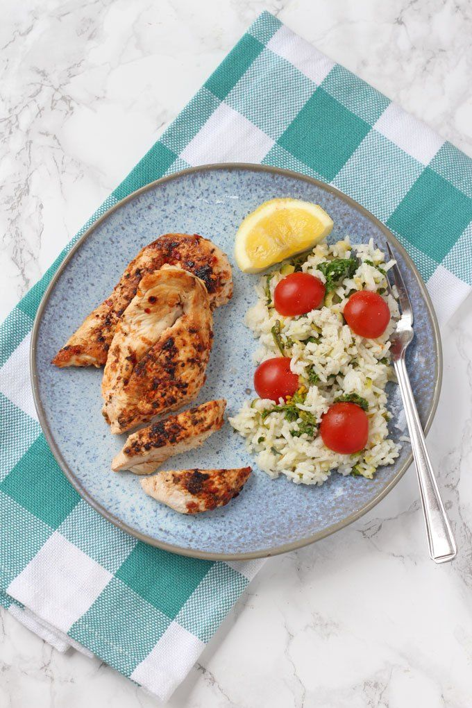 Peri Peri Chicken With Kale Rice   A Review Of The New Weight Watchers  Smart Kitchen