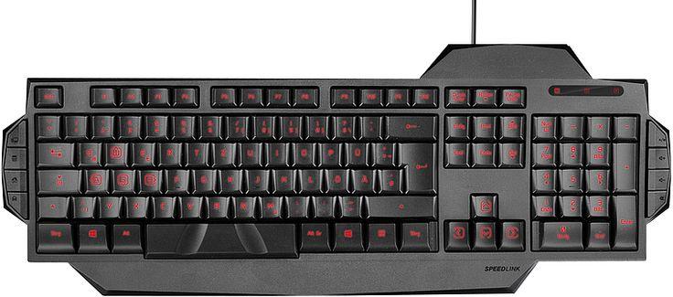 SPEEDLINK / Produits / Accessoires de jeu / Jeu pour PC / Claviers / Filaires / RAPAX Gaming Keyboard, black