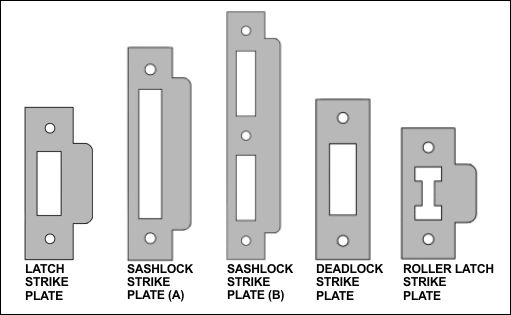 door latch strike plate google search cottage. Black Bedroom Furniture Sets. Home Design Ideas