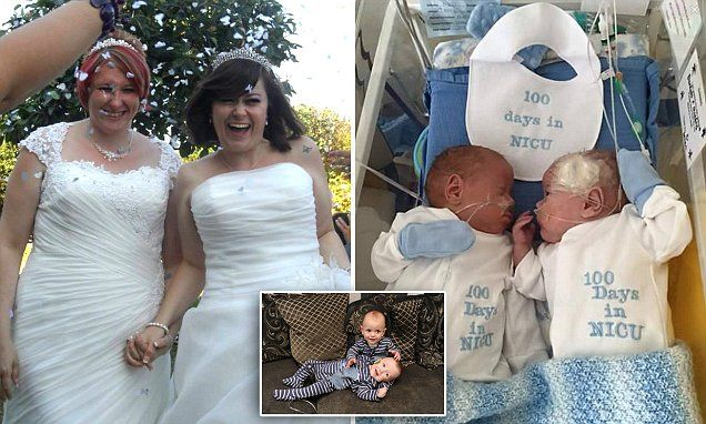 'Our beautiful IVF twins were a wedding gift'