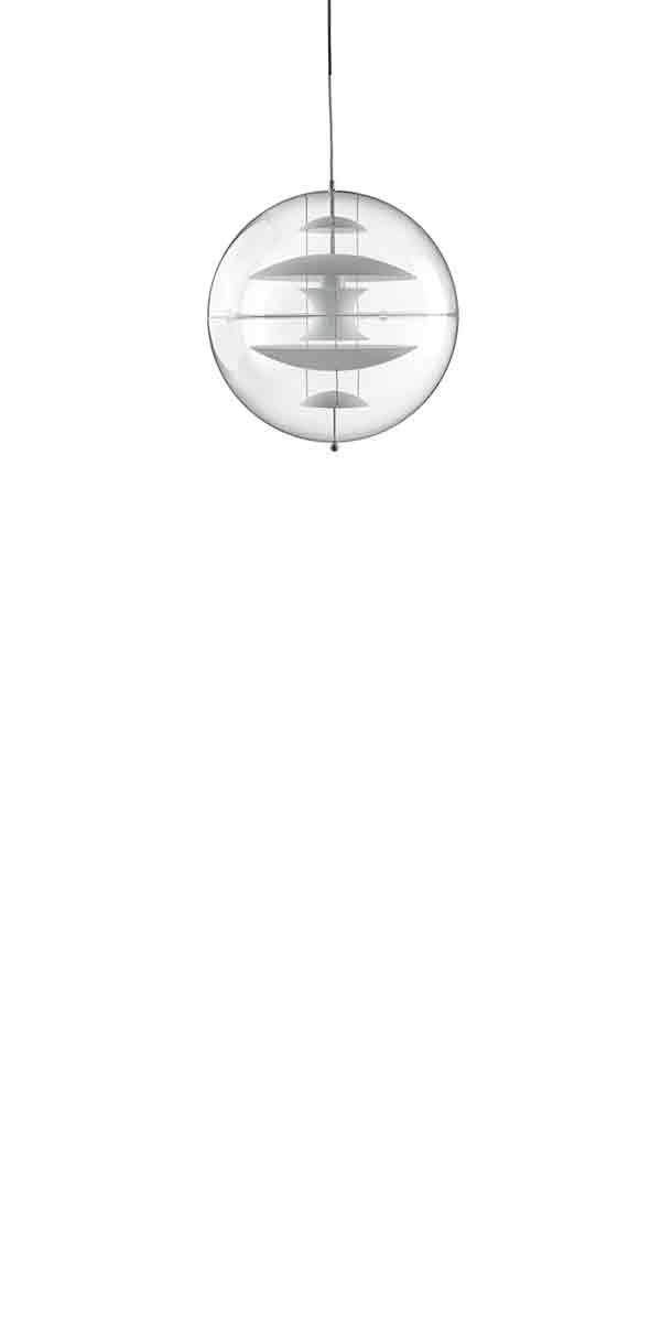 VP GLOBE GLASS SMALL - Pendant designed in 1969  by Verner Panton