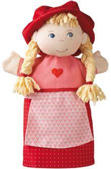HABA - Erfinder für Kinder - Handpuppe Rotkäppchen - Handpuppen - Puppen - Spielzeug & Möbel