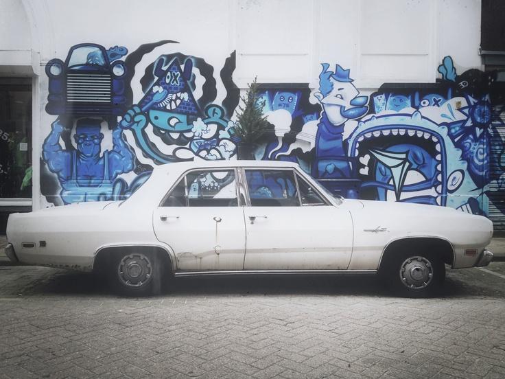 Een echt Rotterdams straatbeeld....