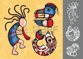 Image result for native indian art of animals