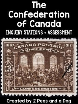 Engaging and Interactive Canadian History Lessons on the Confederation of Canada! Teachers are provided with 10 in-depth lessons to help their students explore and understand this era of Canadian history. ($)