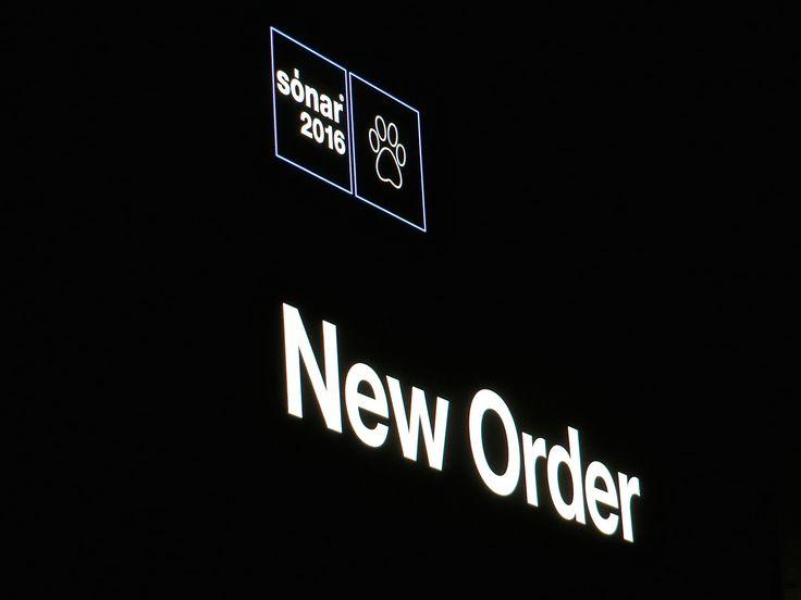 New Order, Sónar Festival, Barcelona, 18.06.2016