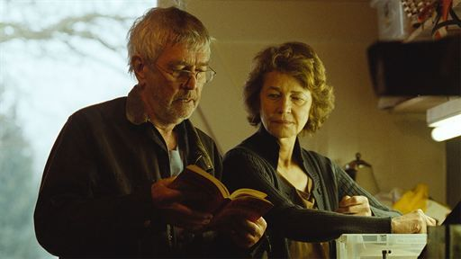 45 ans : Photo Charlotte Rampling, Tom Courtenay