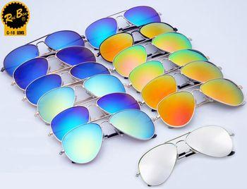 2015 Fashion RB Sun glasses Men Women Brand Designer Sunglasses aviator brands 3025 Vintage eyewear With Logo gafas de sol mujer