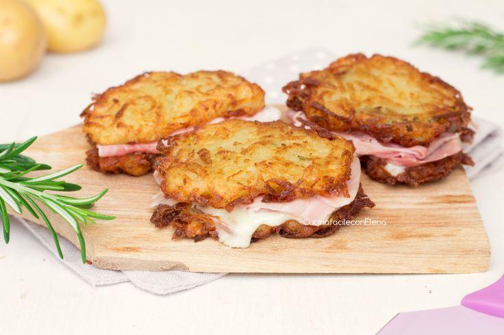 Le frittelle di patate farcite sono una ricetta facilissima e veloce da preparare, gustose e saporite, croccanti fuori e morbide e filanti dentro!