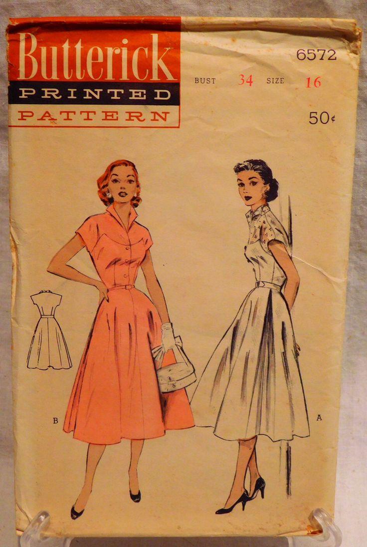 68 best vintage sewing pattern images on pinterest vintage vintage sewing patterns jeuxipadfo Choice Image