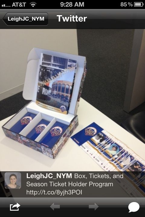 2012 mets tickets