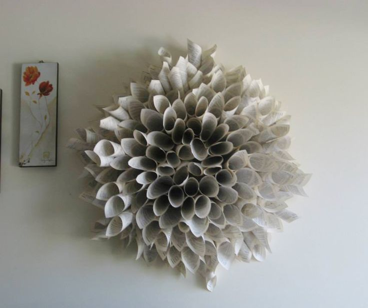 Ghirlanda di carta. Come cornice o decoro