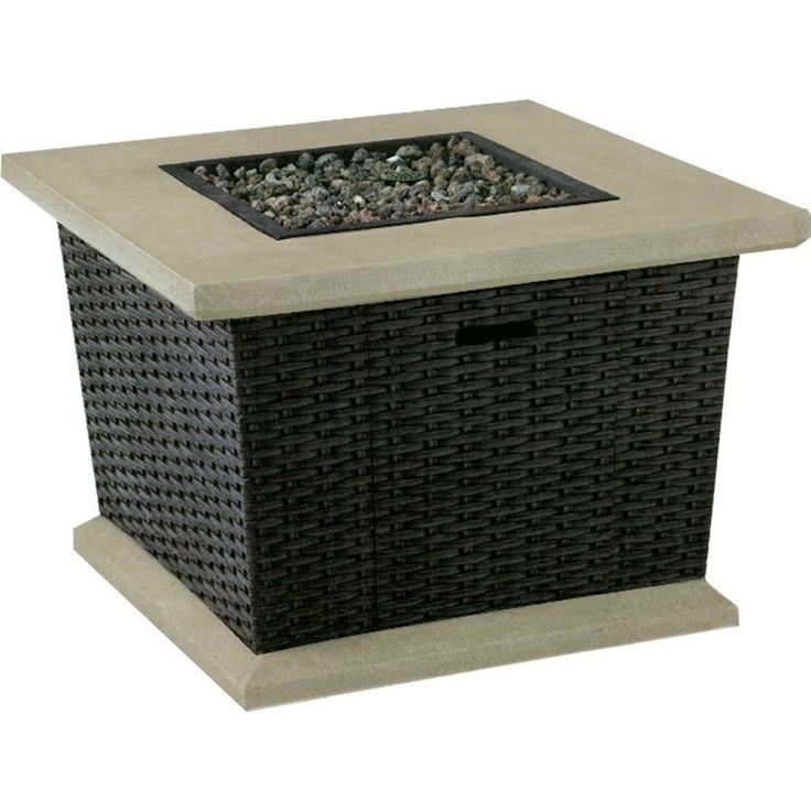 allen roth 34 5 in Somersville Gas Fire Pit Table