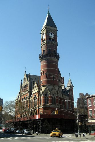 NYC - West Village: Jefferson Market Library