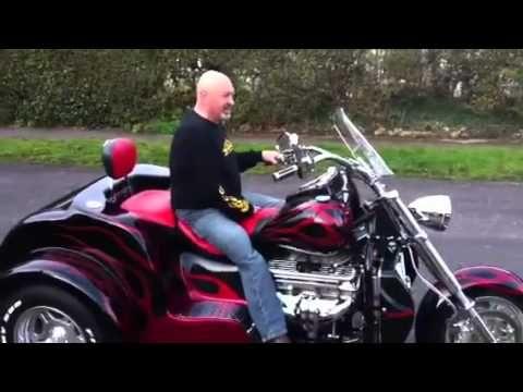 Delivery of Boss Hoss Chevy V8 Trike.flv