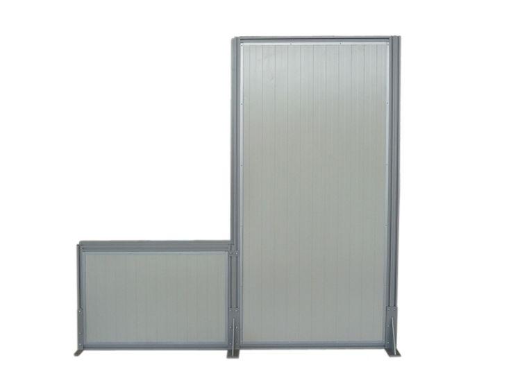 Linea MACRO.JU - Pannelli divisori, pareti mobili, separè su ruote, schermi flessibili, progettazione, produzione e vendita - Clipper System
