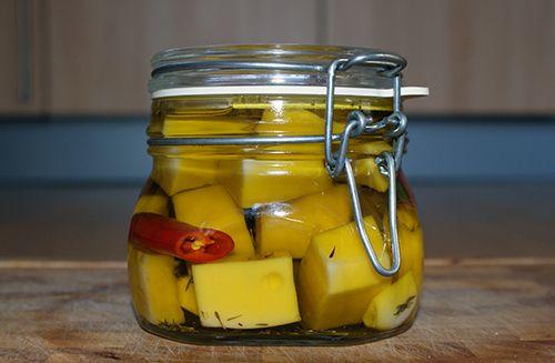 gemarineerde kaas