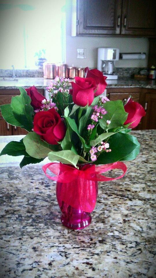 Flowers from my boyfriend♥