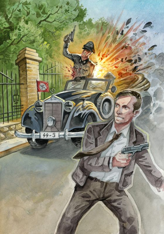 Časostroj_2012 :: karel jerie. Atentát na Heydricha