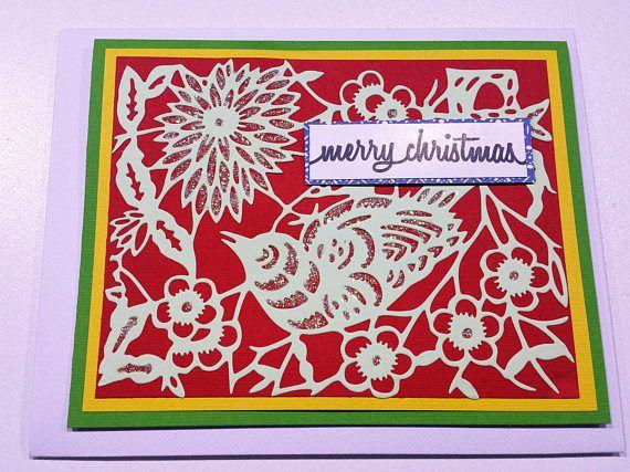 Christmas Card   Handmade Cards  Happy Christmas Cards