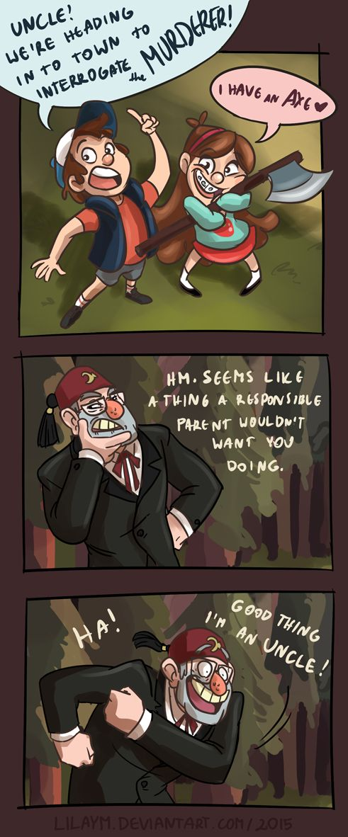 What a good uncle by LilayM.deviantart.com on @DeviantArt