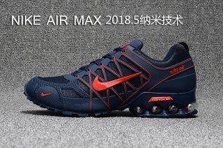 0a6e75f8d2d Mens Nike Air Max 2018. 5 Shox KPU Navy Blue Red Footwear