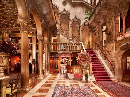 Hotel Danielli, Venice .... One of the most romantic hotels I have ever stayed in.