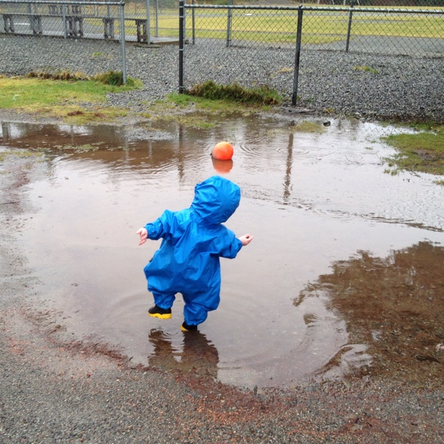 A little puddle jumping is good for everyone......