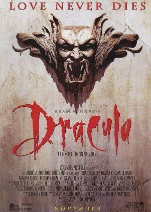 "My all time favorite film, Bram Stokers Dracula!    ""I have crossed oceans of time to find you."" -Dracula"