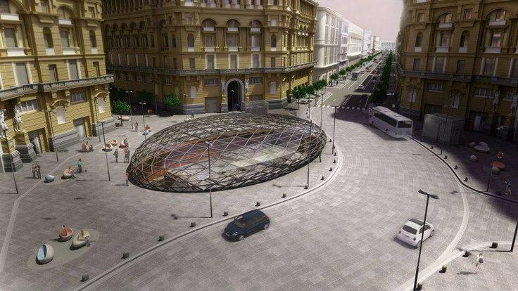 Piazza Nicola Amore nuova stazione Metro Duomo Napoli