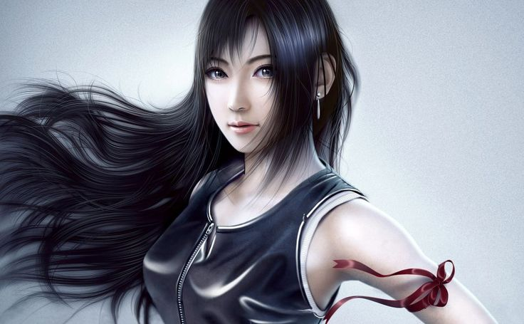 Tifa Lockhart HD Wallpaper
