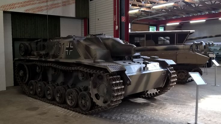 Sturmgeschütz III Saksan panssarimuseo Munster