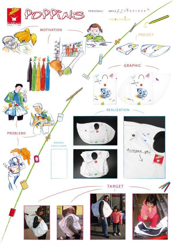 Poppins by Rita Gigante, via Behance