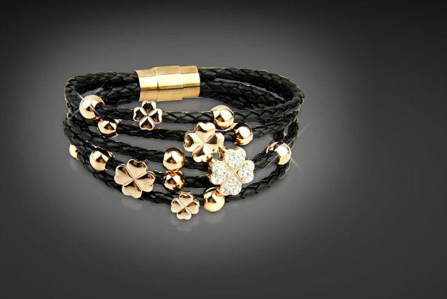 Swarovski Elements Flower Bracelet