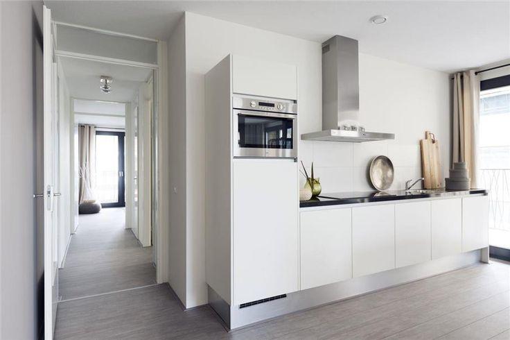 Tijdloze rechte keukenopstelling rechte keukens pinterest - Moderne keuken deco keuken ...