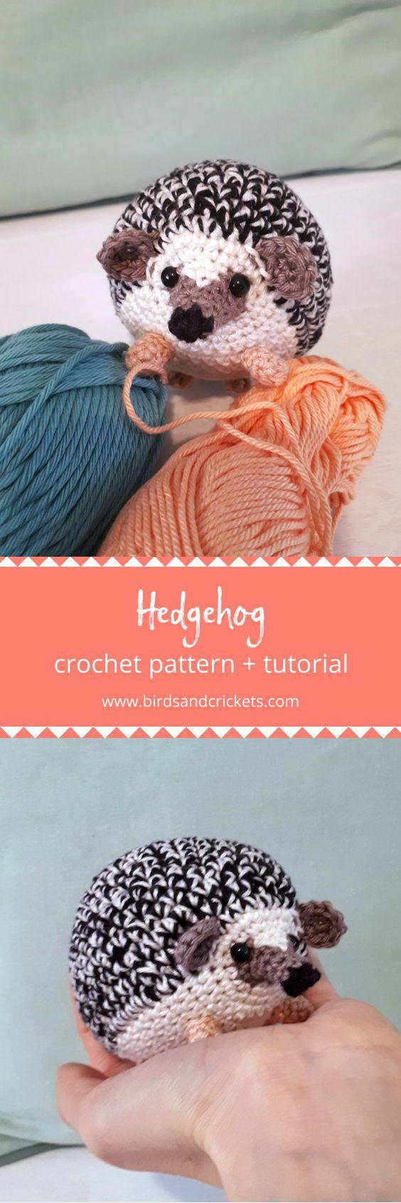 Hedgehog crochet pattern | Pinterest | Häckeln, Häkeln und Häkeltiere