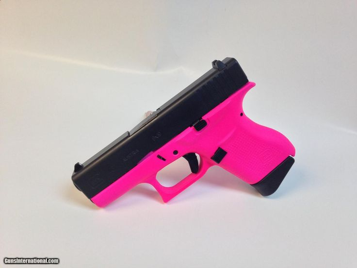 For Sale: Hot Pink Glock 43 9mm pistol